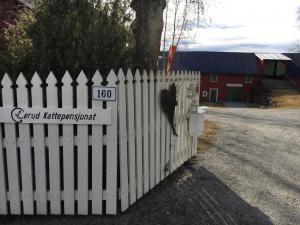 Innkjøringen til Lerud gård